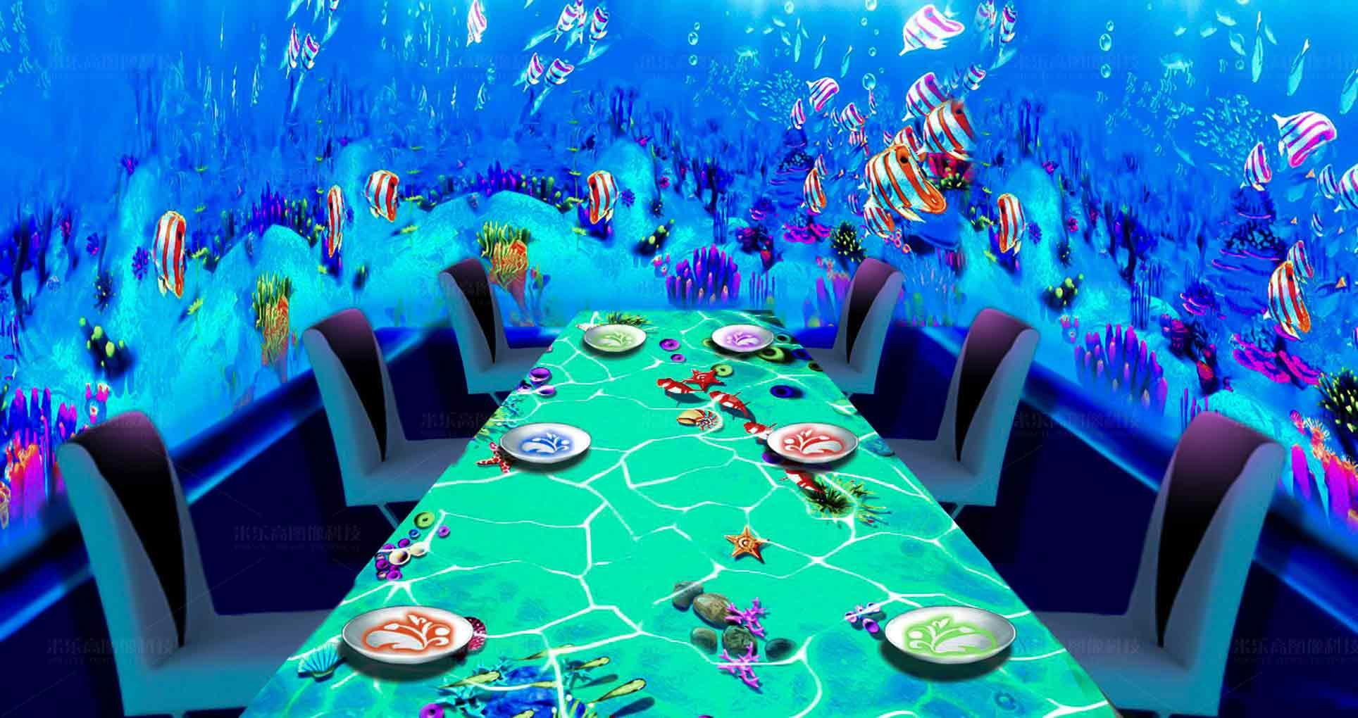 全息沉浸式餐厅